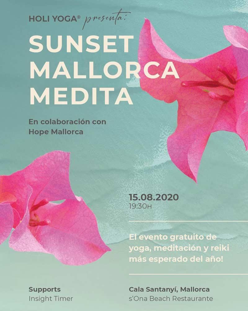 Los2dos Mallorca mit dem Sunset Mallorca Medita Event