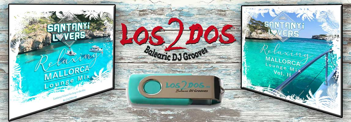 Los2dos Lounge Mix Cover USB 2020 Santanyi Lovers